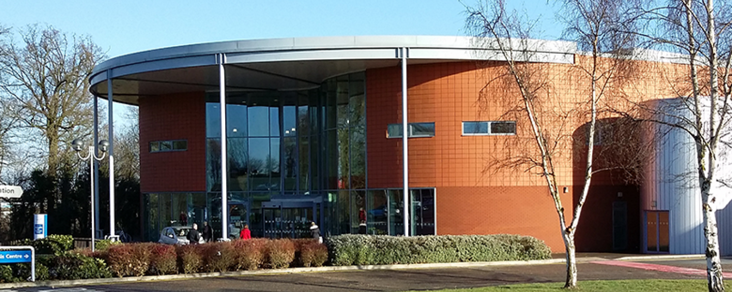 Treatment centre at Hinchingbrooke Hospital