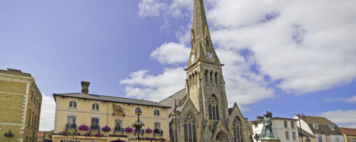 Picture shows St Ives in Huntingdonshire