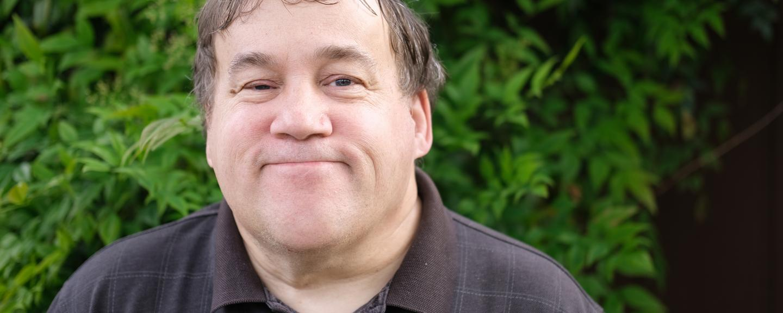 Autism workshop Cambridgeshire - picture of autistic man