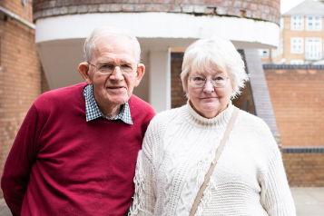 Older couple - man and wife