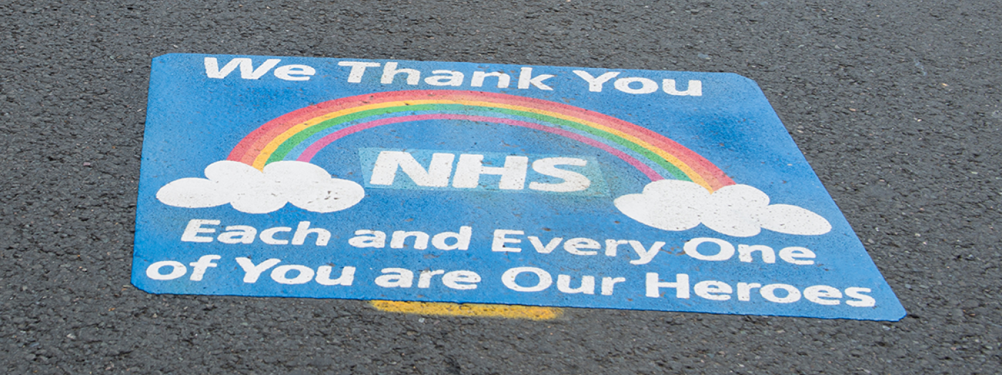 Thank you to all the NHS, social care and other key workers