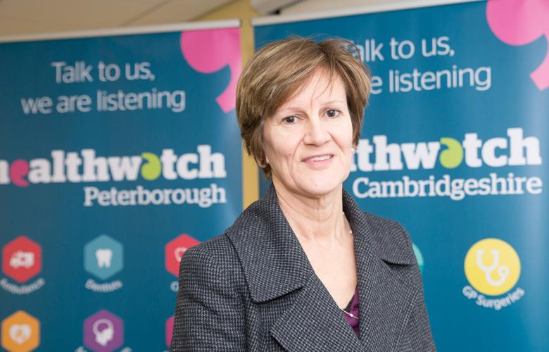 Val Moore Healthwatch Chair