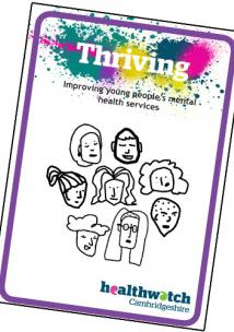 Picture shows cover of Thriving report